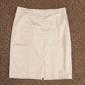 LOFT Khaki Pencil Skirt